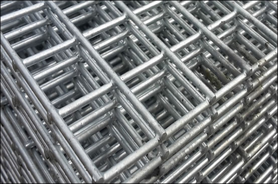 Steel bar welded panel mesh for concrete construction